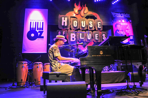 Tom McDermott at WWOZ's 30th Annual Piano Night - April 30, 2018. Photo by Michael E. McAndrew Photography.