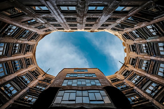 Looking up series | No. 3 | Casa Mila | by soomness