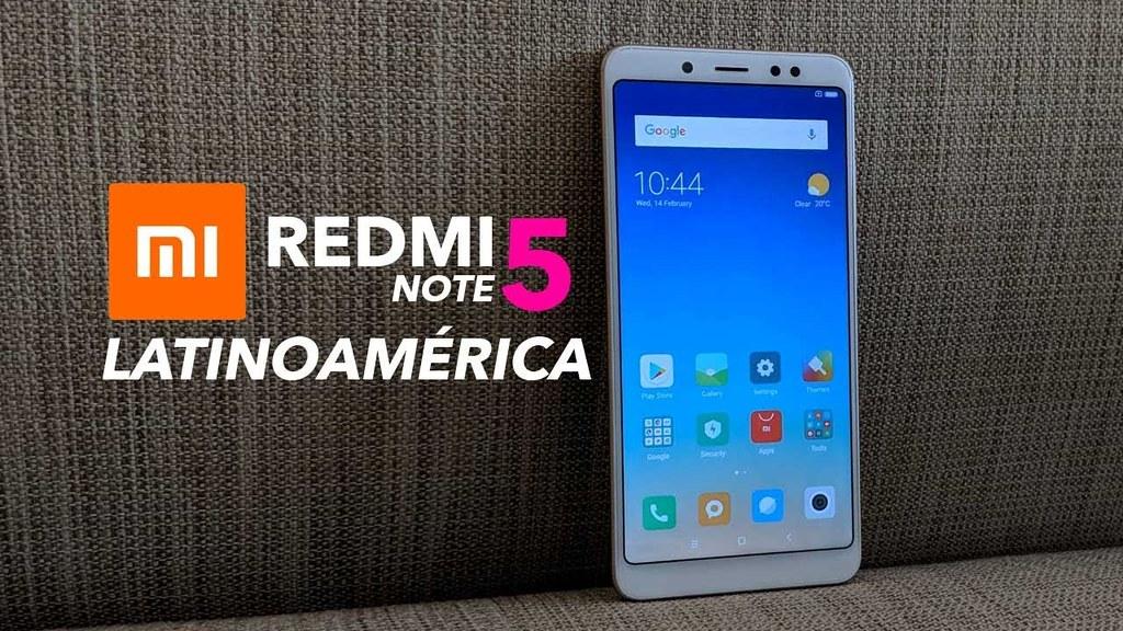 Xiaomi Redmi Note 5 Version China - Detalles de Global - Unboxing - Impresiones