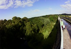high-up on Avon Aqueduct, Union Canal