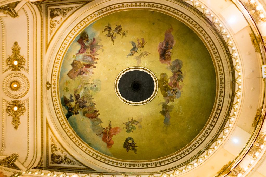 Ceiling El Ateneo Grand Splendid
