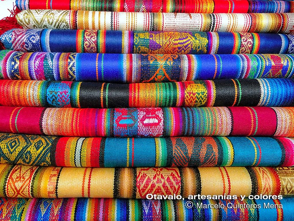 Otavalo Artesanías Y Colores El Mercado De Los Ponchos Flickr