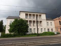 1828/29 Magdeburg klassizistisches Gesellschaftshaus von Karl-Friedrich Schinkel/Friedrich Wilhelm Wolff Schönebecker Straße 129 in 39104 Buckau