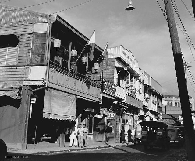 Manila China Town, 848 Ongpin Street, Binondo, Manila, Philippines, 1949 (1)