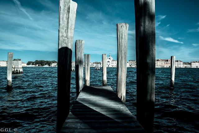 Fondamenta Zattere Ai Saloni. Venezia. Il Grande Azzurri.
