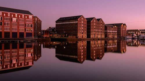 Sunset on Gloucester Docks 3 | by kennysarmy