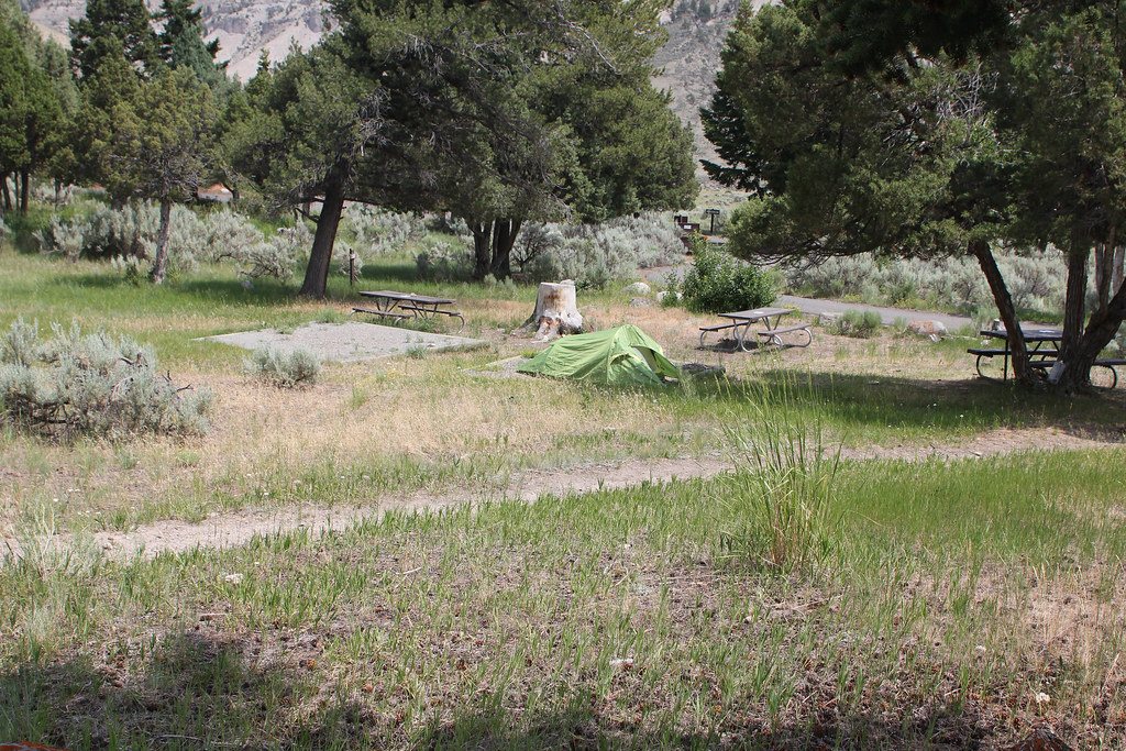 Mammoth Hot Springs Campground | Yellowstone National Park | Flickr