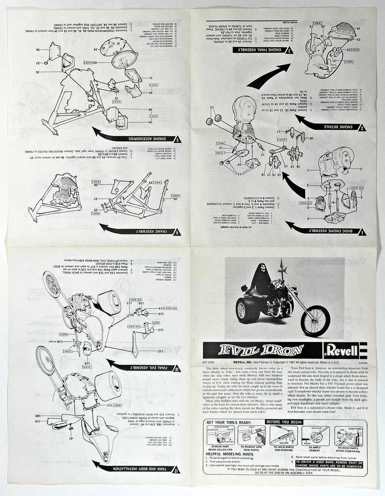 Motorcycle Kits I Grew Up With 5 – Instruction Manual | Flickr