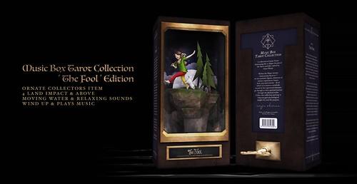 !Ohmai Music Box Tarot Collection : 'The Fool' Edition