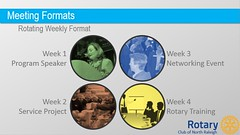 "Slideshow presentation for evening meeting details on SlideShare at <a href=""http://www.slideshare.net/nraleighrotary/evening-meeting-details"" rel=""nofollow"">www.slideshare.net/nraleighrotary/evening-meeting-details</a>."