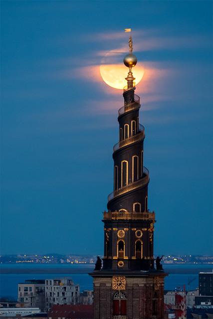 Moon & spire #2
