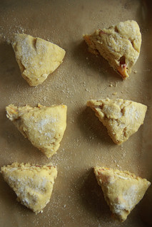 Peach Scones-gluten free and vegan from HeatherChristo.com | by Heather Christo