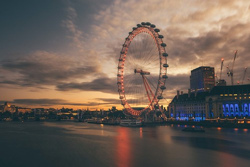 london eye canon 5d mkiv mk4 dawn sunrise sun rise