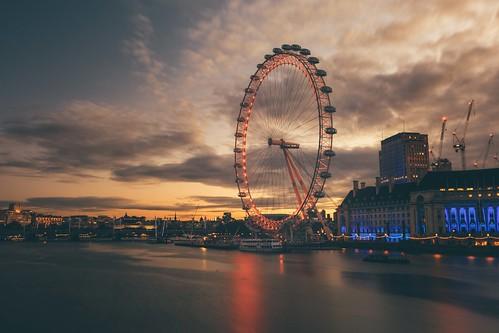 london eye canon 5d mkiv mk4 dawn sunrise sun rise