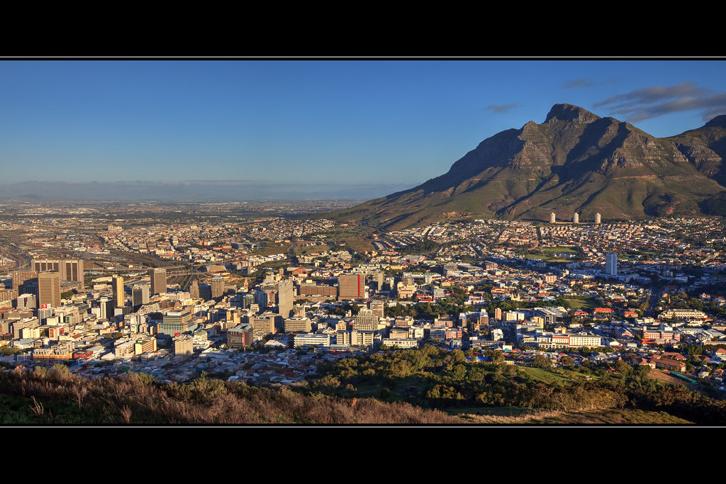 Cape Town from Signal Hill