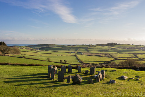 ireland irish stone circle landscape cork drombeg