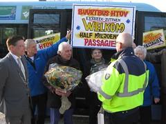 felicitaties van busmaatschappij Syntus