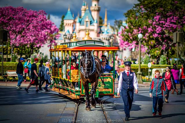 Main Street USA, Disneyland CA