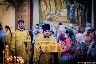 Литургия в Иверском монастыре 40