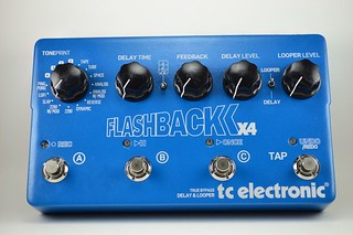 USED TC Electronic Flashback X4 Delay/Looper Guitar Effects Pedal - Free Ship | by albertosabelalberto