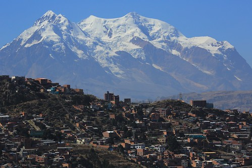 city travel houses people mountain snow southamerica landscape photography haze community scenery peak dry sunny bolivia security erosion views geology peaks lapaz arid altiplano highaltitude dwellings illimani topography mountainous exploreunexplored guardianmountain eriagn ngairelawson ngairehart