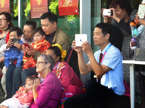 Crowd - Chinese Lunar New Year festivities at Upper Riccarton Library