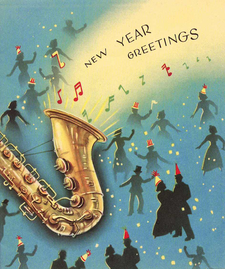 New Year Greetings card - date unknown