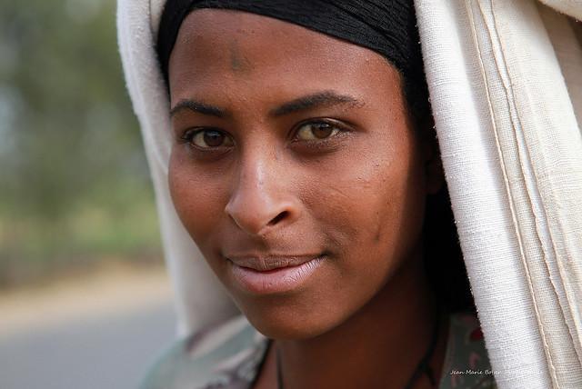 Éthiopienne a Gondar
