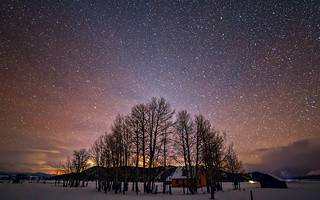 Mormon Row at Night - Tetons - Explored | by PrevailingConditions