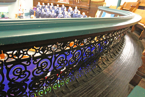 Balcony ironwork and wood floor   by KaseyEriksen