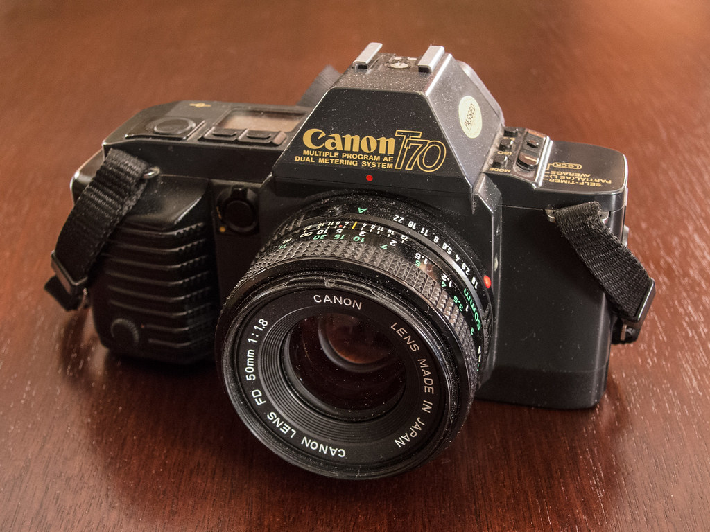 Updated review: Canon T70.