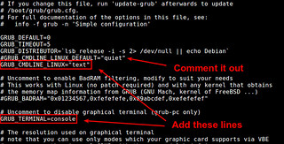 Default GRUB for Console Booting   by xmodulo