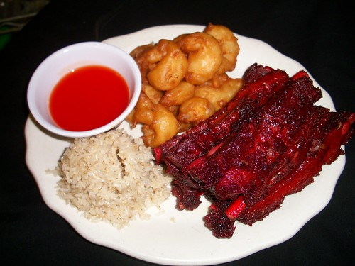 C13 10pcs. Fried Shrimp and 4 pcs. Spare Ribs | by Golden Gate Chinese Restaurant