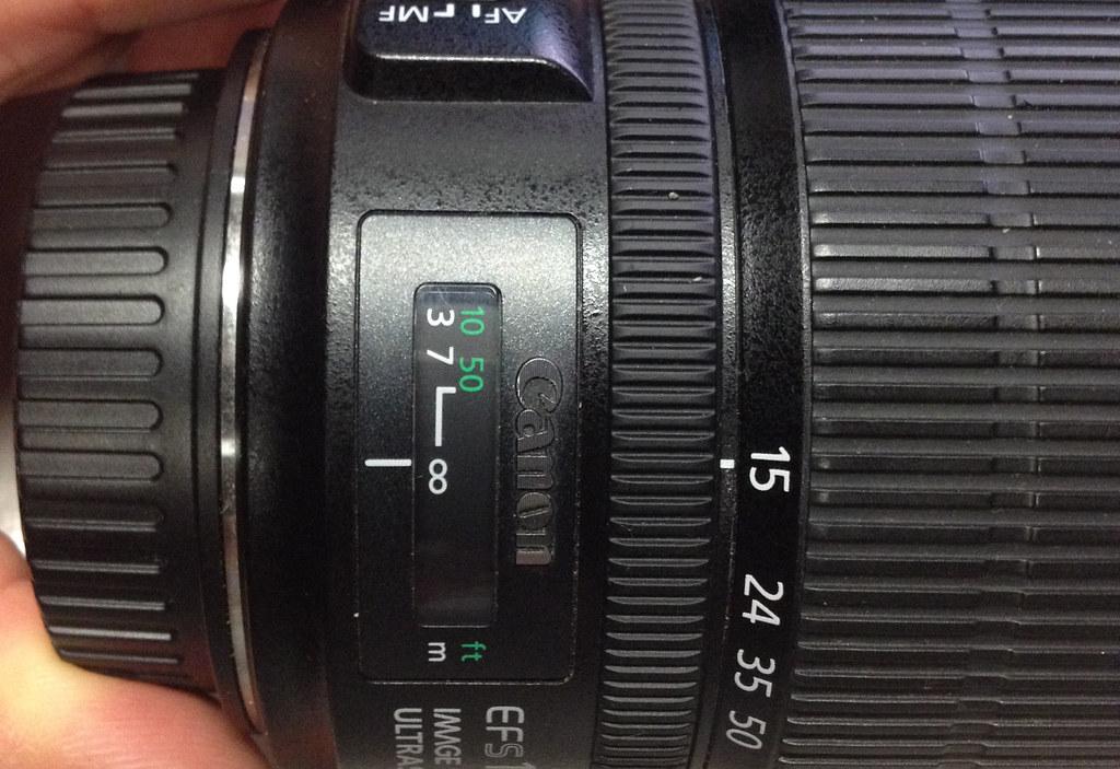 infinity setting on camera lens