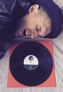 """Pleasure To Meet You."" vinyl test pressing listeningssss today! #deadsara"