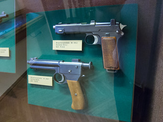 WWI repeater pistols