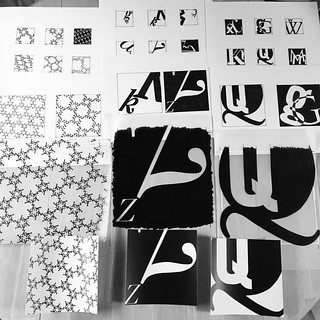 First big project of graphic design school, done! Typography class single letter project. #school #typography #pcc | by -leethal-