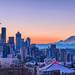 Seattle Sunset Glow - EXPLORED by kwphotos.com