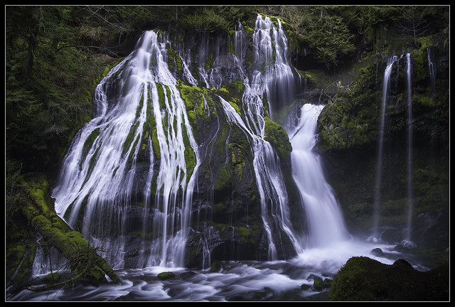 Another Angle at Panther Creek Falls