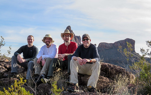 Group shot overlooking the Mule Ears | by AndrewNewton