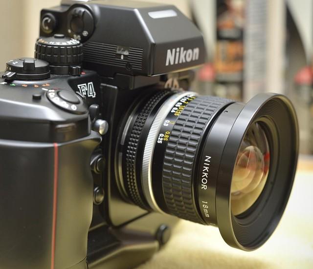 nikon nikkor 18mm 3.5 D3 Sunset Circle dr lens 1