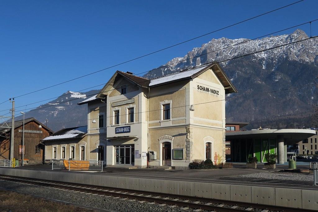 Bildergebnis für Bahnhof Schaan