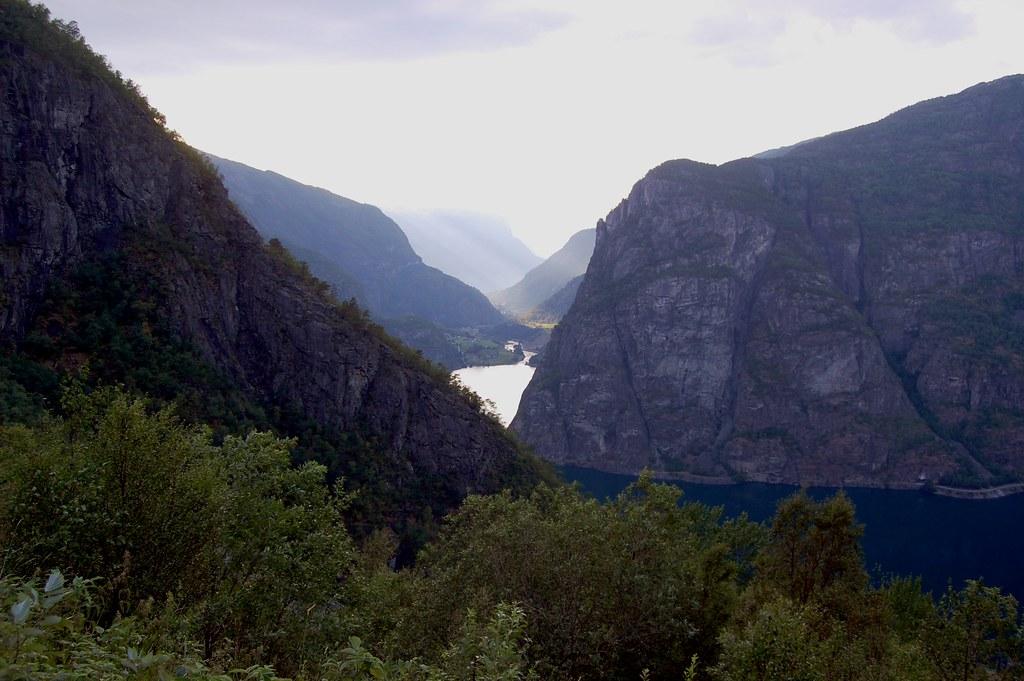 Above Aurlandsdalen