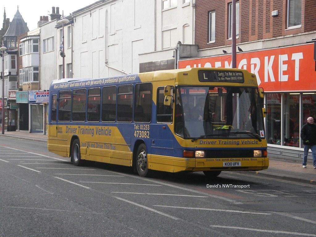 Blackpool Transport 970 K130ufv Blackpool 18 02 15