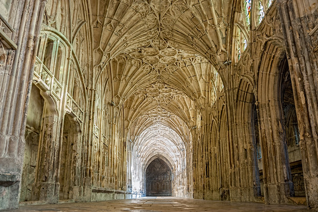 Great Cloister, Gloucester cathedral