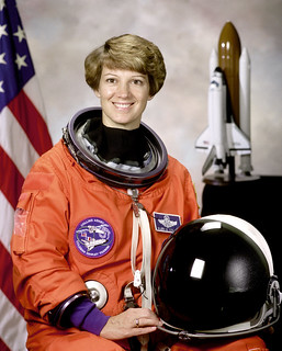 Commander Eileen Collins   by NASA on The Commons
