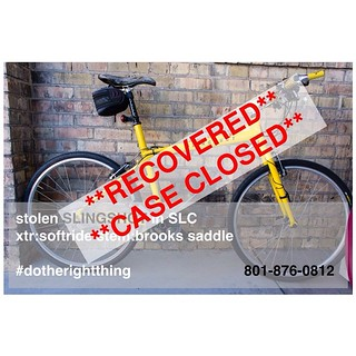 Ole Yell'er has been recovered !!  Much thanks to @blas801 for all the help.  #slingshot #slingshotbikes