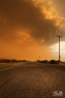 End of the line dust storm | by No Stone Unturned Photography