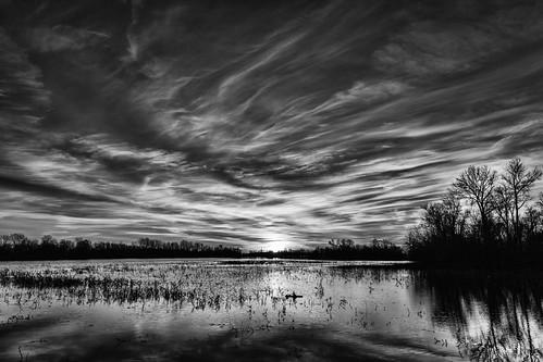 november sky clouds sunrise canon midwest unitedstates missouri mississippiriver alton 2014 westalton eosm riverlandsmigratorybirdsanctuary