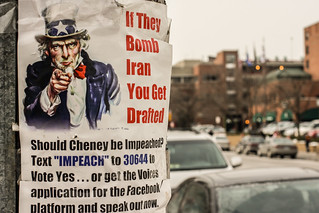 If They Bomb Iran, You Get Drafted